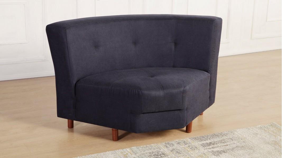 Aysima künc (3 + 2) divan dəsti bənövşəyi rəng