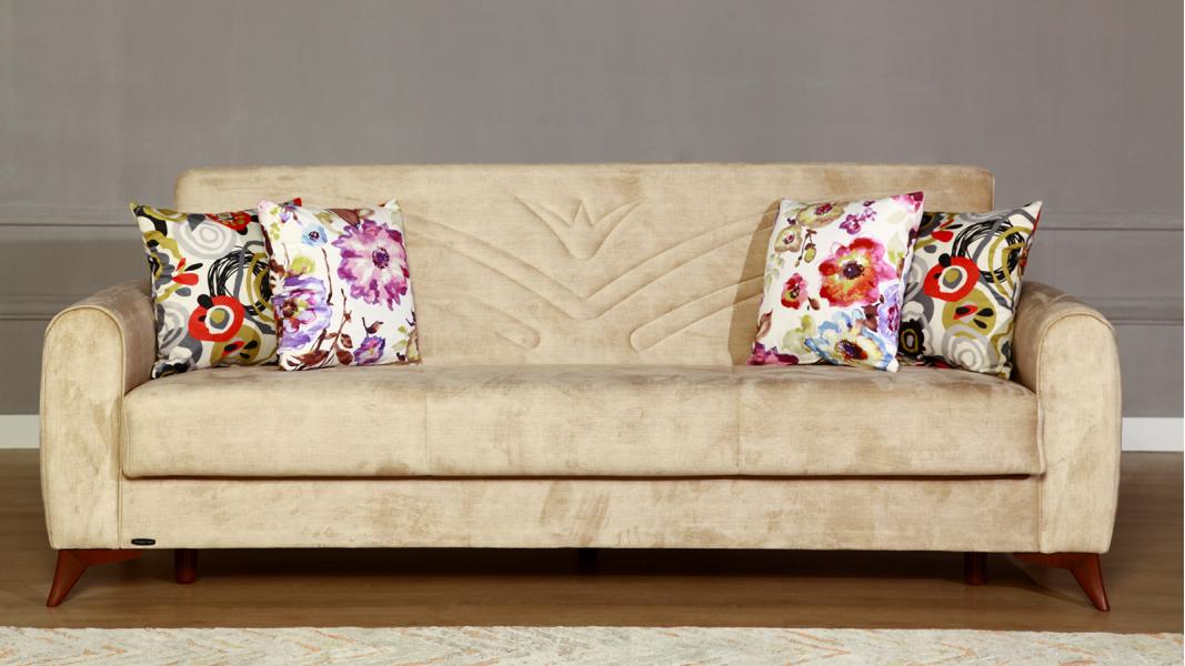 Modern divan dəsti sarı rəng 2